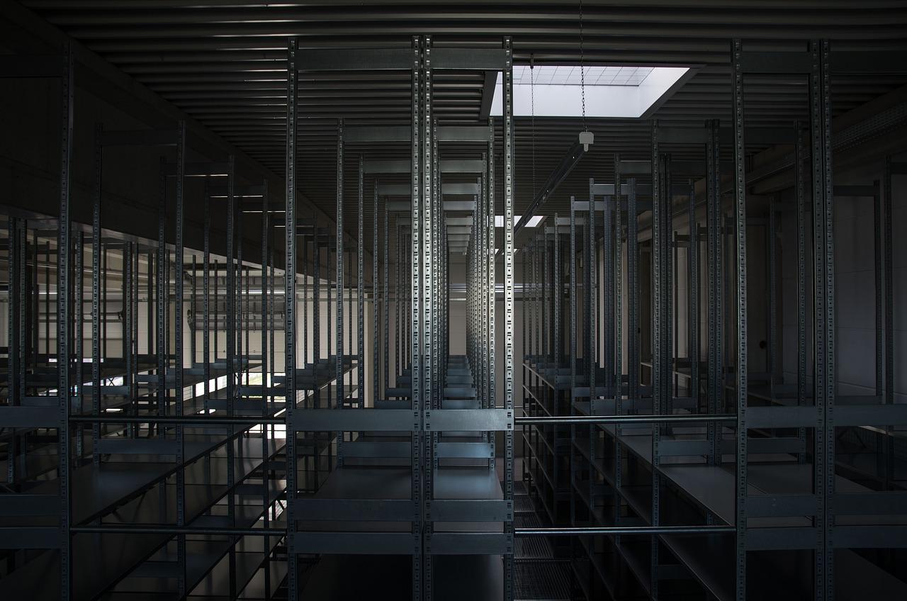 Steel shelf systems